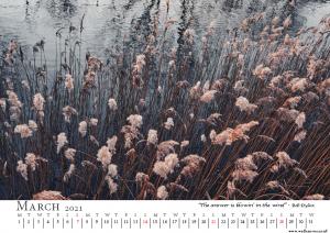 Image: March calendar